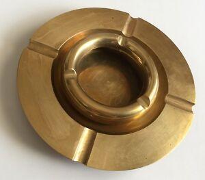 2 Brass Ashtrays