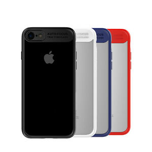 outlet store 1e4ca 5b056 Details about MCDODO Ultra Thin Slim Soft and Hard PC+TPU Case Cover For  iPhone X,8, 7 Plus, 7
