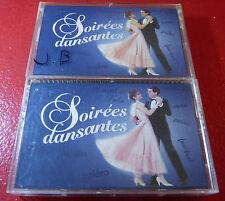 Lot of Two Cassettes Audio Soirées Dansantes Vol. 1 & 4 ! Polygram Canada Album