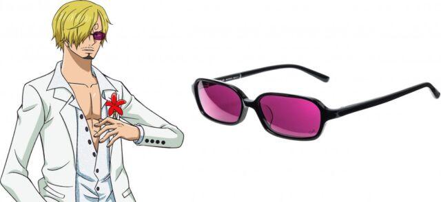 One Piece Film Gold Sanji Sun Glasses Frame Cloth Case Anime Cosplay Japan For Sale Online Ebay