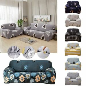 Stretch-Couch-Sofa-Lounge-Cover-Slipcover-Protector-1-2-3-4-Seater