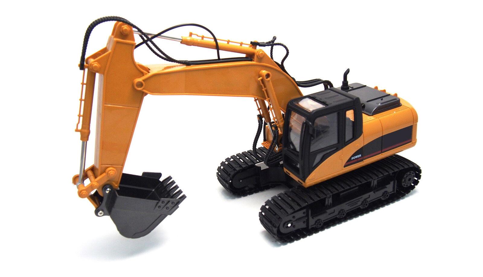 Amewi 22307 Escavatore con pala in metallo scale  1 14, 2,4ghz
