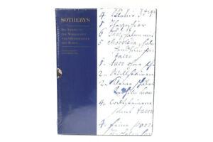 Sotheby's Boxed Set of Six Die Sammlung Der Markgrafen Und Grossherzoge Von Bade