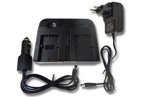 KAMERA Akku-Ladegerät DUAL für SONY Alpha DSLR-A230L NP-FH50