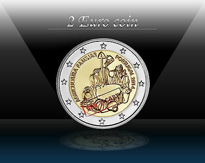 "PORTUGAL 2 EURO coin 2014 (No2) "" The International Year of Family Farming "" UNC"