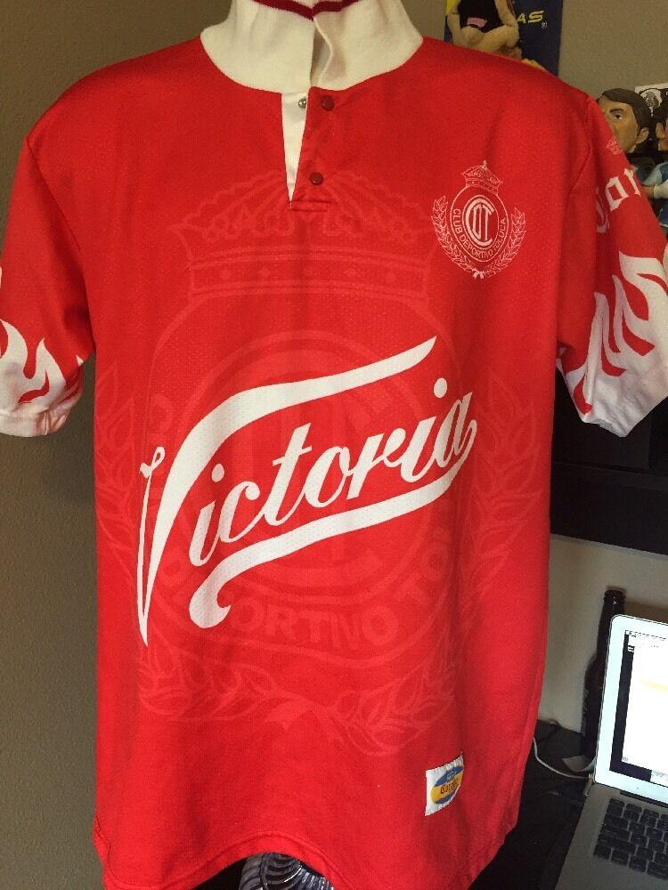 CoroNA SPORT Toluca Diablos rossos LARGE local jersey Envio gratis