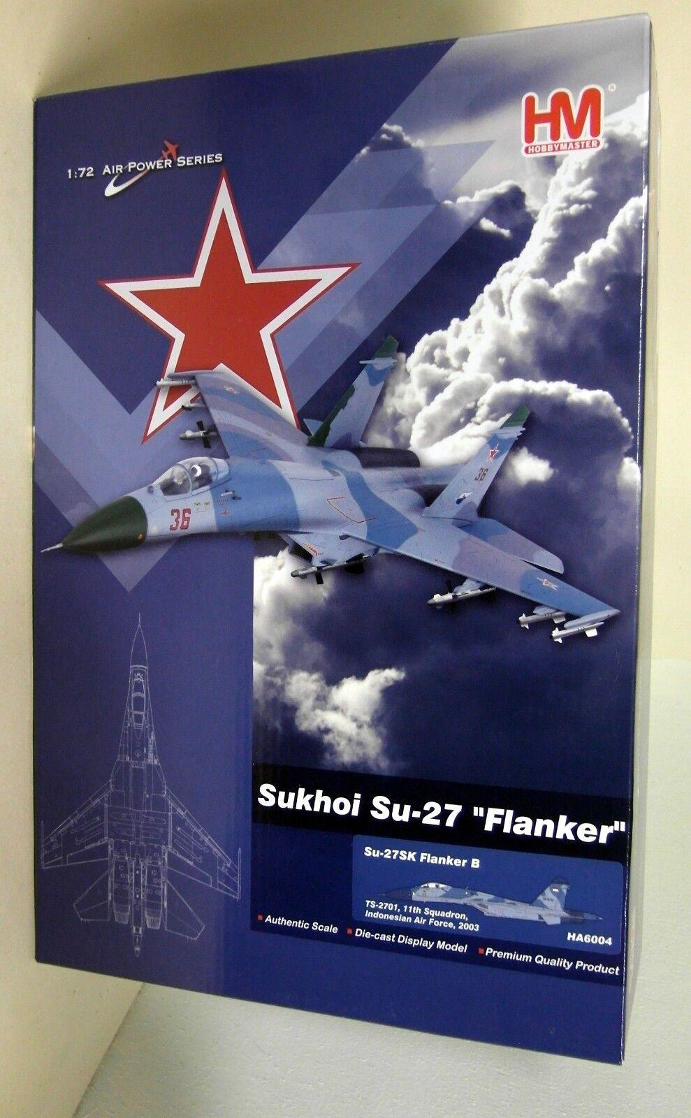 venta al por mayor barato Hobbymaster 1 72 escala HA6004 Sukhoi Sukhoi Sukhoi Su-27 accionariado B TS-2701 Avión Diecast  mas preferencial