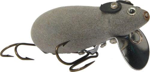 Deluxe Wobbler Maus 7cm Mauswobbler für Hecht Wels Kunstköder Hechtköder