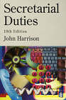 Secretarial Duties by John Harrison (Paperback, 1996)