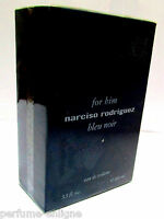 Narciso Rodriguez For Him BLEU NOIR Edt Spray 100ml 3.4 oz *NIB *Sealed for Men*