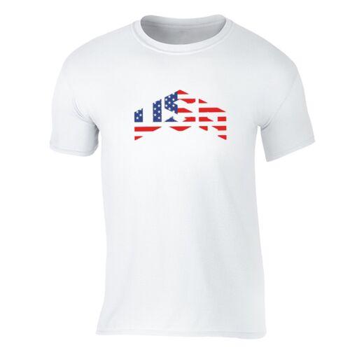 American Flag distressed 4th of July T-shirt Clothing USA Pride Shirt
