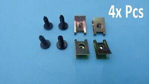 10X Puerta Umbral Recorte Clip De Fijación tuerca de bloqueo de moldeo Sujetador Para Renault 7703074373