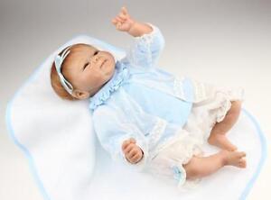 18/'/' Handmade Lifelike Silicone Vinyl Reborn Newborn Baby Preemie Girl Doll