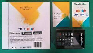 WorldPay Zinc chip & pin keypad - new