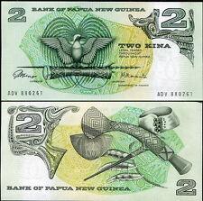 PAPUA NUOVA GUINEA - Papua New Guinea 2 kina 1981 FDS - UNC