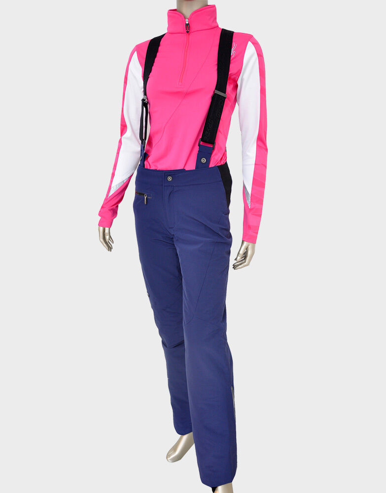 Spyder Ruby Pants Womens Ski Snowboard 20k Waterproof Insulated Navy 6