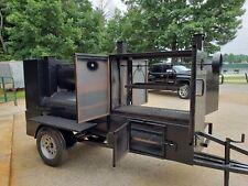 Pro Santa Maria 36 Grill Mobile Bbq Smoker Trailer Pitmaster Food Truck Vending