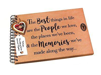 A5 We Were Making Memories Memory Book Scrapbook Album Gift Keepsake Present birthday Keepsake Condolence