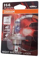 H4 12V 60/55W P43t Night Breaker LASER+130 1st. Blister Osram 64193NBL-01B