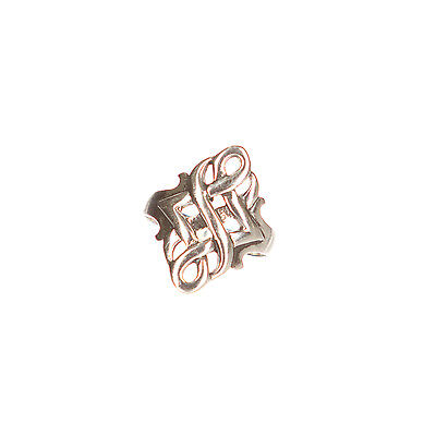 Celtic Endless Eternity Knot Wicca Ring New .925 Sterling Silver Band Sizes 6-14