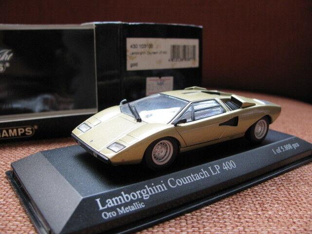 1 43 Minichamps Lamborghini Countach LP400 diecast