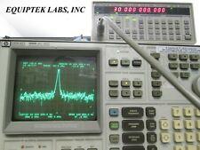 Hp 3585b Low Frequency Spectrum Analyzer 01hz Resolution Tested Read Descriptio