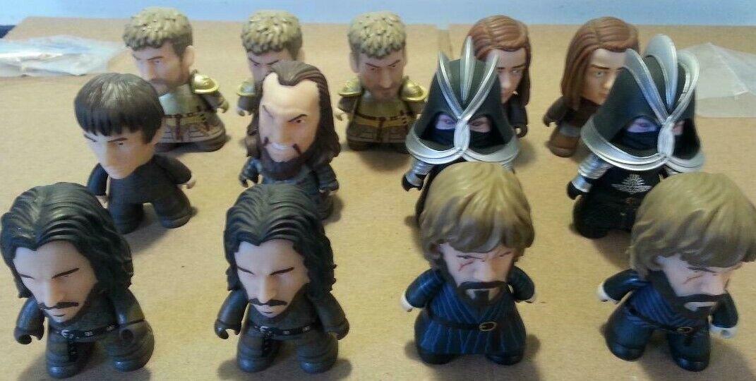 Lote de 13 Titanes Juego de Tronos siete reinos Vinilo Mini Figuras 1 36 Chase