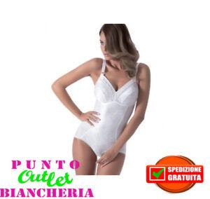 1811 Contenitivo In Coppa C Spalline Nero Carne Bianco Body Donna Charme Art Body