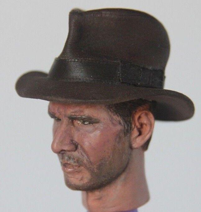 Indiana Jones 1 6 personalizado de la vida-como Harrison Ford cabeza esculpida 12  figura rojola