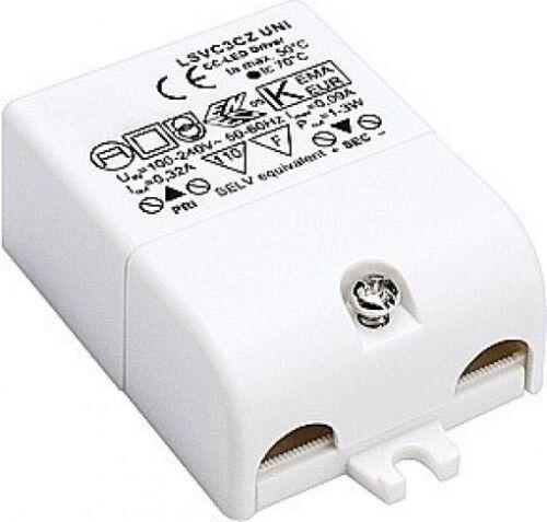 350mA SLV LED-Treiber 3VA inkl Zugentlastung