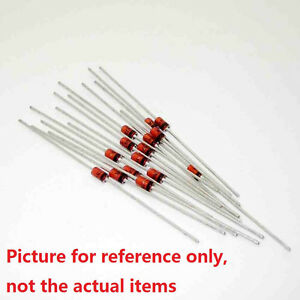 250Pcs 1N4740 1N4740A IN4740 DO-41 DIP ZENER DIODE 1W 10V Diode