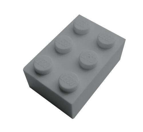 light bluish gray 3002 Lego 50 Stück Stein 2x3 hellgrau Neu Steine in 2 x 3