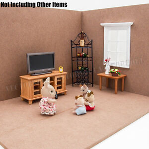 Wooden Backdrop Dollhouse Background Scene For Photograph Shooting