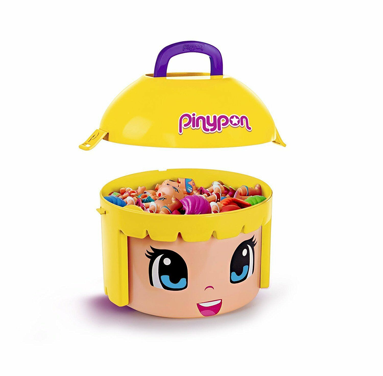 Pinypon Maxi Box Container shape bighead Pinypon to store 20 20 20 figures Accesories 136234