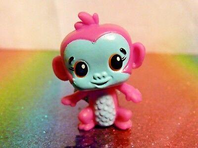 Hatchimals Colleggtibles Series 1 MONKIWI Pink Monkey Mini Figure Mint OOP