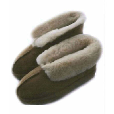 Reproduction 1920's Kids & Adults Sheepskin Slippers Sewing Pattern Size 1 -10