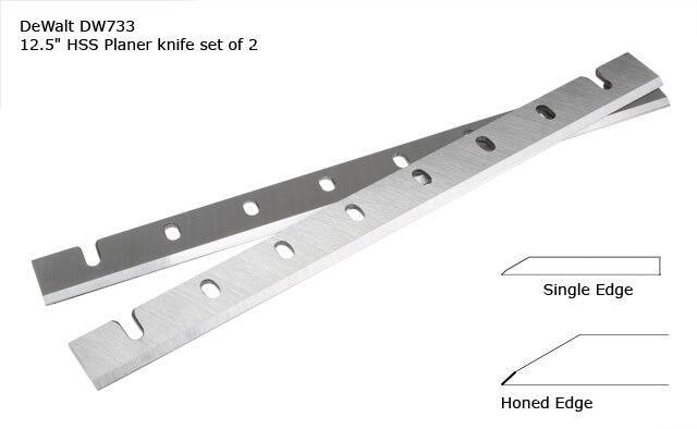 Dewalt DW733 High Speed Steel HSS Planer Blades replaces Dewalt Blade   DW7332
