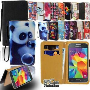 Flip-Leather-Wallet-Stand-Cover-Phone-Case-For-Samsung-Galaxy-S1-S2-S3-S4-S5