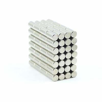 N35 4mm dia x 10mm strong Neodymium rod magnets MRO DIY reed switch SMALL PKS