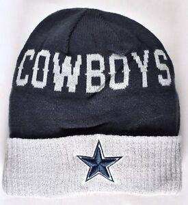 DALLAS COWBOYS New Era On Field Sport Knit Beanie Hat OSFA Navy NFL ... 69ae40a23