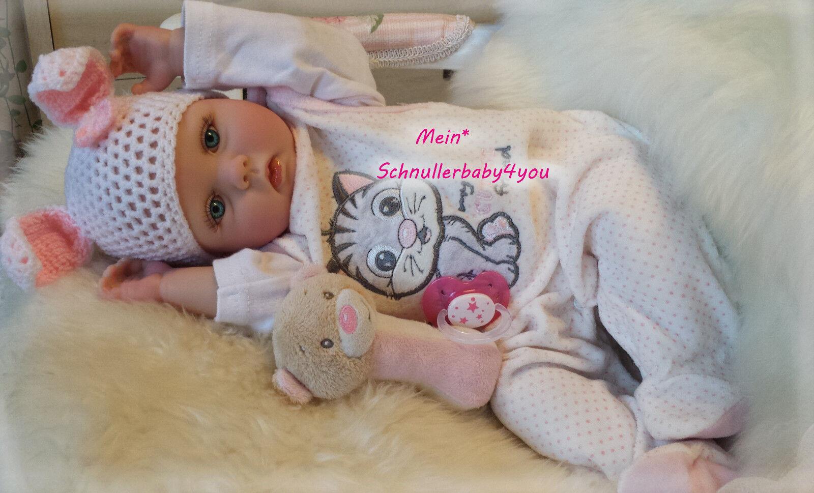 ✨ Reborn Reallife Baby Oster Hase Bunny BS U.L Krautter Babypuppe Geschenk✨