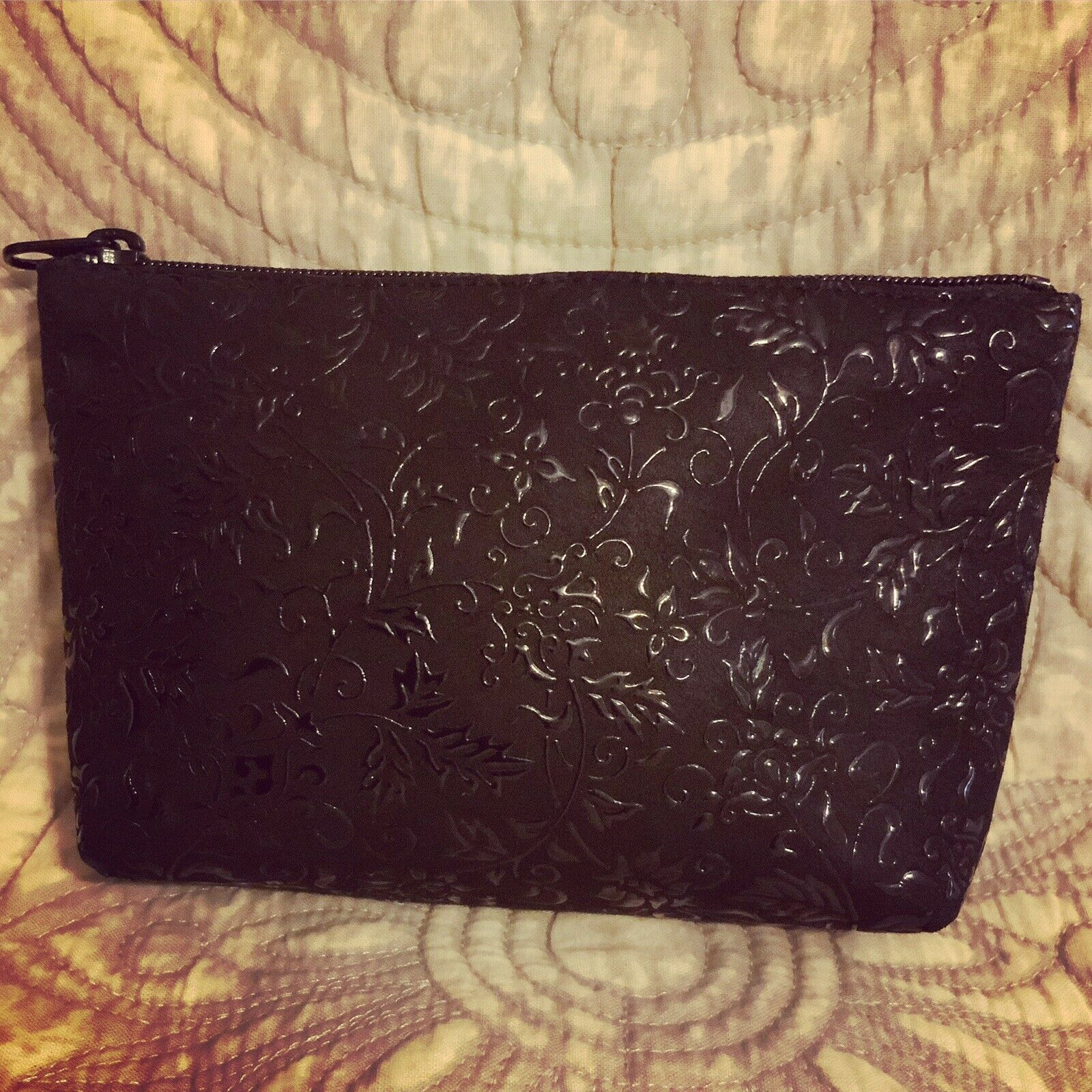 A Very Cool Beautiful Black Iden-ya Small Zip Bag