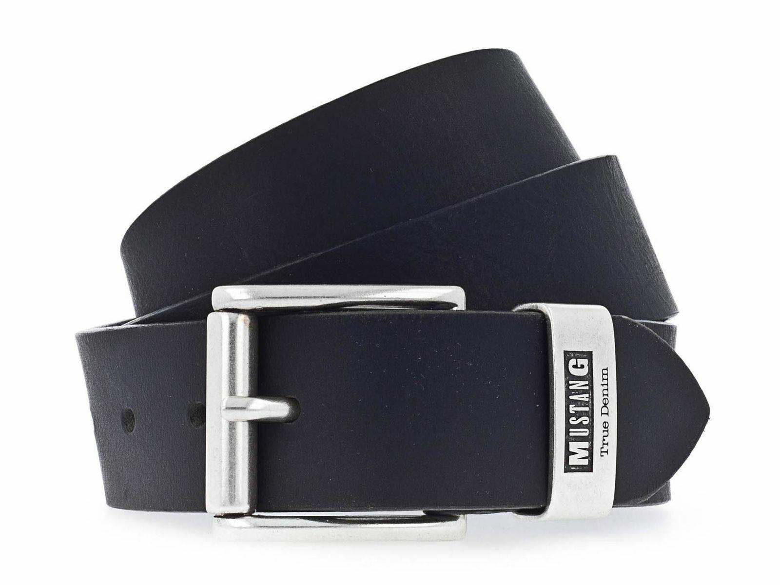 MUSTANG Belt 4.0 W120 Gürtel Accessoire Black Schwarz Neu