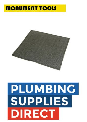 * Monument 250mm Soldering Mat Heat Resistant Plumbers Brazing Pad 2351A