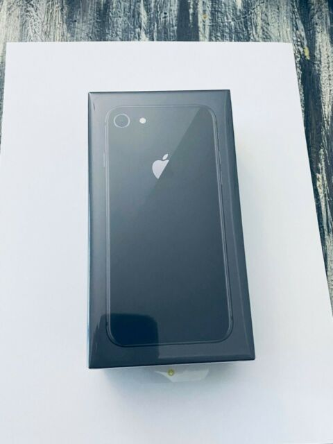 Brand New Sealed Apple iPhone 8 64 GB SpaceGray AT&T H2O 1 YEAR APPLE WARRANTY
