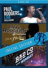 Paul Rodgers Live Glasgow Montreux Wembley DVD 2014 Region 2 NTSC