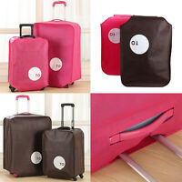 """20""""24""""26""""28"""" Non-woven Travel Luggage Suitcase Cover Anti Dust Protective Pouch"""