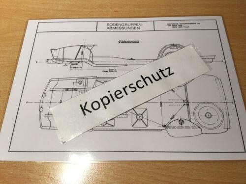 2800-e 3 e 2800 CS-E 9 BMW 2500 maßplan Gruppo Pavimento
