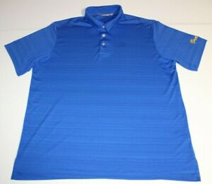 Mens-Ashworth-Short-Sleeve-SS-Golf-Polo-Shirt-XL-X-Large-Blue-Heathered