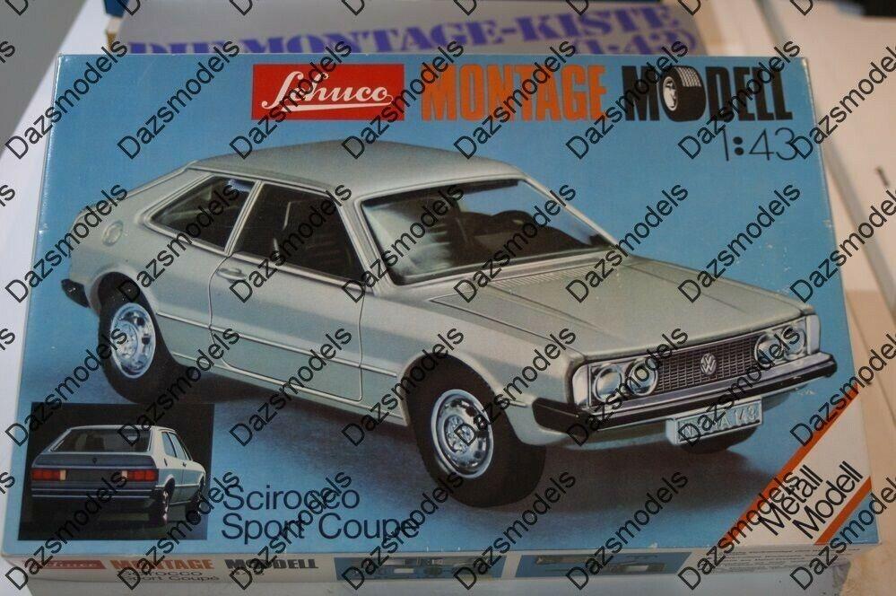 Schuco VW SCIROCCO 1:43 SCALA DIECAST MADE Kit